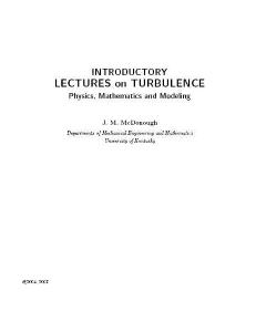 university of kentucky, turbulence