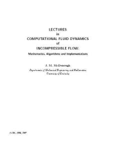 university of kentucky, fluid dynamics, incompressible flow: