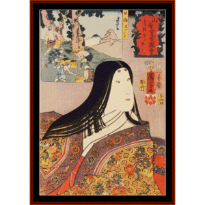 Woman V - Asian Art cross stitch pattern by Cross Stitch Collectibles | Crafting | Cross-Stitch | Wall Hangings