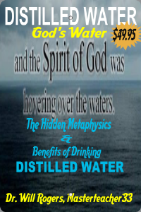 distilled water - the hidden metaphysics & benefits