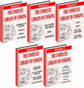 The Complete Library Of Cooking | eBooks | Food and Cooking