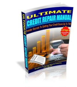 Ultimate Credit Repair Manual | eBooks | Finance