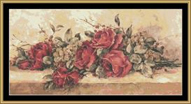 Tonys Roses | Crafting | Cross-Stitch | Wall Hangings