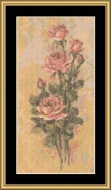 Tonys Roses Ii | Crafting | Cross-Stitch | Other