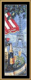 Eiffel Tower - Whimsy | Crafting | Cross-Stitch | Wall Hangings