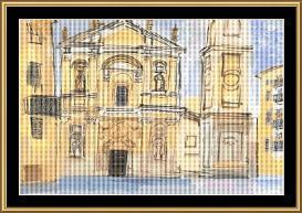 Cathedral A Nice | Crafting | Cross-Stitch | Wall Hangings