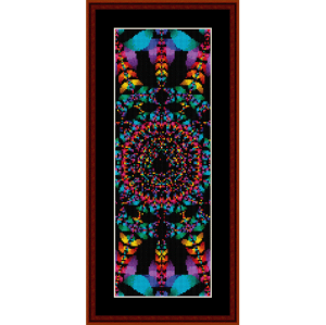Fractal 55 Bookmark cross stitch pattern by Cross Stitch Collectibles | Crafting | Cross-Stitch | Other