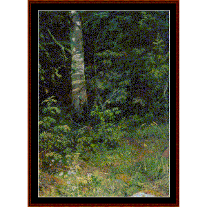 Birch & Mtn. Ash, 1878 - Shishkin cross stitch pattern by Cross Stitch Collectibles | Crafting | Cross-Stitch | Wall Hangings