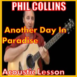 Learn to play Another Day In Paradise by Phil Collins | Movies and Videos | Educational