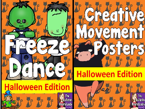 Halloween Freeze Dance and Creative Movement | Other Files | Everything Else