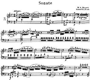 Sonata No.3, K.281 in B Flat Major. W.A. Mozart. Ed. Breitkopf Urtext (Unedited), Kalmus Reprint. | eBooks | Sheet Music