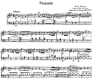 Sonata No.17, K.570 in B-Flat Major. W.A. Mozart. Ed. Breitkopf Urtext (Unedited), Kalmus Reprint. | eBooks | Sheet Music