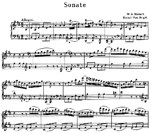 Sonata No.18, K.576 in D Major. W.A. Mozart. Ed. Breitkopf Urtext (Unedited), Kalmus Reprint. | eBooks | Sheet Music