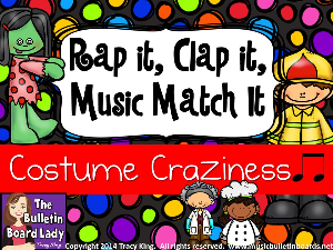Rap It Clap It Music Match It:  Costume Craziness | Other Files | Everything Else