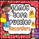 Candy Corn Recorder Puzzles | Other Files | Everything Else
