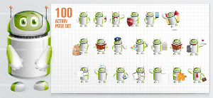 droid cartoon character