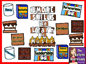 SMORE Skills We Learn in Music | Other Files | Everything Else
