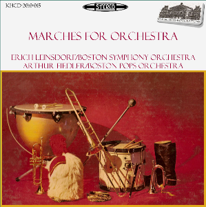 Marches for Orchestra - BSO/Leinsdorf - BPO/Fiedler | Music | Classical