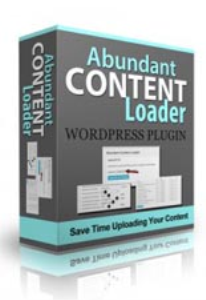 Abundant Content Loader Plugin   Other Files   Patterns and Templates