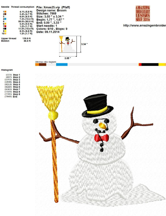 First Additional product image for - Christmas Embroidery designs