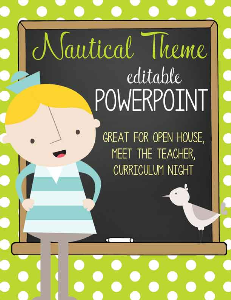 nautical - powerpoint / lime