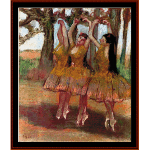 Grecian Dance - Degas cross stitch pattern by Cross Stitch Collectibles | Crafting | Cross-Stitch | Wall Hangings