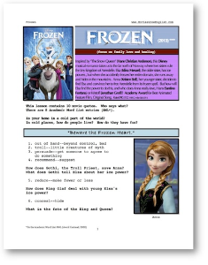 FROZEN, Whole-Movie English (ESL) Lesson | eBooks | Education