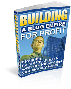 building a blog empire for profit