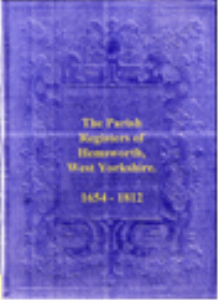 Hemsworth Parish Registers | eBooks | Reference