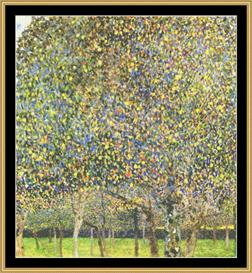 The Pear Tree - Klimt | Crafting | Cross-Stitch | Wall Hangings