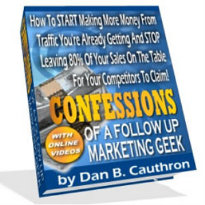 Confessions Of A Follow Up Geek | eBooks | Business and Money