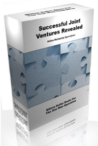 Successful Joint Ventures Revealed | eBooks | Business and Money