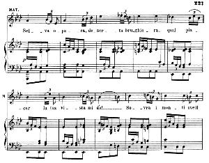 S'allontanano al fin...Selva opaca. Recitative and Aria for Soprano (Matilde). G. Rossini: Guglielmo Tell, Act II Sc. 2. Vocal Score, Ed. Ricordi (1866). Italian. | eBooks | Sheet Music