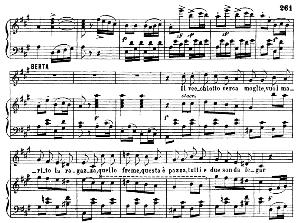 Che vecchio sospettoso!...Il vecchiotto cerca moglie. Recitative and Cavatina for Soprano (Berta). G. Rossini: Il barbiere de Siviglia, Act II Sc. 6. Vocal Score, Ed. Ricordi (1869). Italian.. | eBooks | Sheet Music