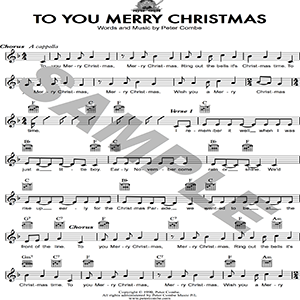 Peter Combe - To You Merry Christmas | Music | Children