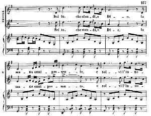 Sei tu che stendi o Dio. Aria for Tenor (Neocle). G. Rossini: L'assedio di Corinto. Vocal Score. Ed. Ricordi, 1891 (PD).Italian. | eBooks | Sheet Music