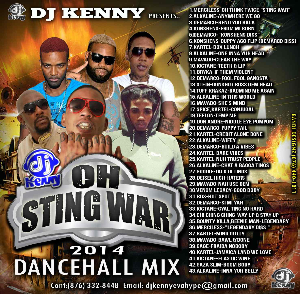 Dj Kenny Sting War Reggae Mix Cd | Music | Reggae