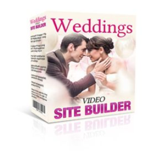 weddings video site builder software