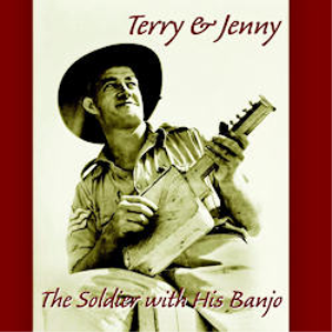 the soldier with his banjo