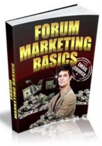 Forum Marketing Basics eCourse | eBooks | Business and Money