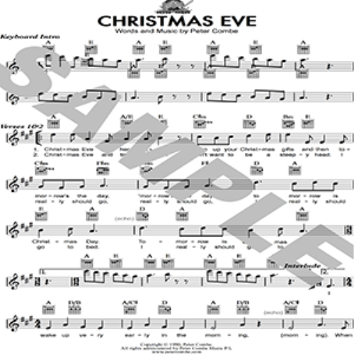 Second Additional product image for - Peter Combe - Christmas Eve
