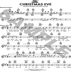 Peter Combe - Christmas Eve | Music | Children