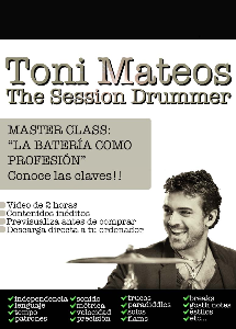The Session Drummer. Leccion 95. Master Class La Bateria como profesion | Music | Other
