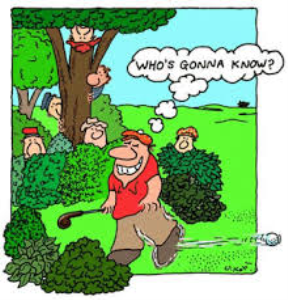 the gospel of golf according to st. duffy