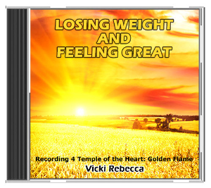 losing weight and feeling great recording 4 temple of the heart: golden flame