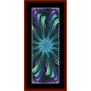Fractal 470 Bookmark cross stitch pattern by Cross Stitch Collectibles | Crafting | Cross-Stitch | Other