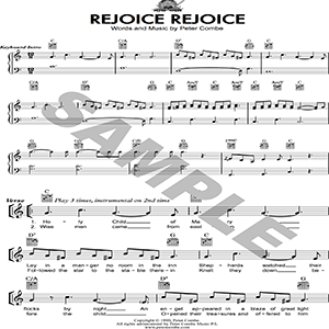 Peter Combe - Rejoice Rejoice | Music | Children