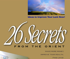 feng shui secret from the orient