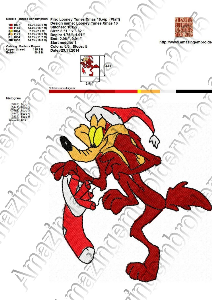 Looney Tunes Christmas - Embroidery design | Crafting | Sewing | Other
