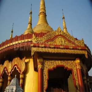 golden pagoda meditation
